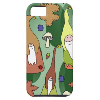 Capa Para iPhone 5 Gnomos da floresta