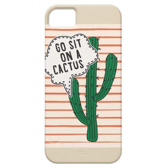 Capa Para iPhone 5 Go Site On Cactus