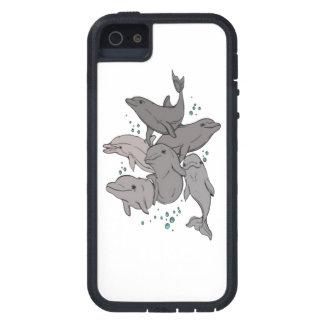 Capa Para iPhone 5 Golfinhos brincalhão