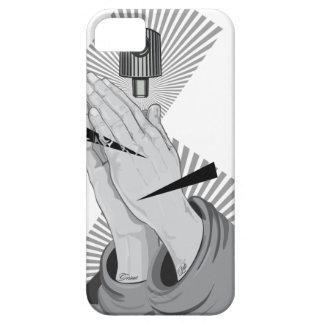 Capa Para iPhone 5 Grafites Praying das mãos