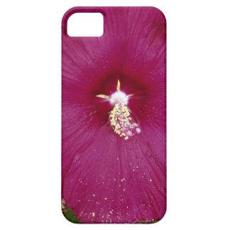 Capa Para iPhone 5 grande obscuridade - hibiscus vermelho