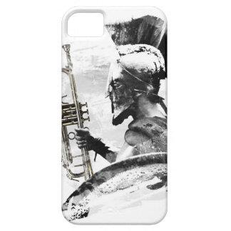 Capa Para iPhone 5 Guerreiro da trombeta