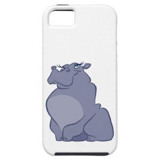 Capa Para iPhone 5 Hipopótamo para o Natal