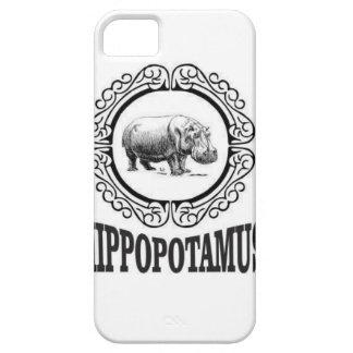 Capa Para iPhone 5 Hipopótamo quadro