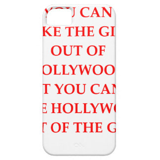 CAPA PARA iPhone 5 HOLLYWOOD