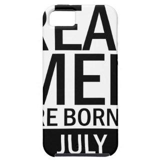 Capa Para iPhone 5 Homens reais julho