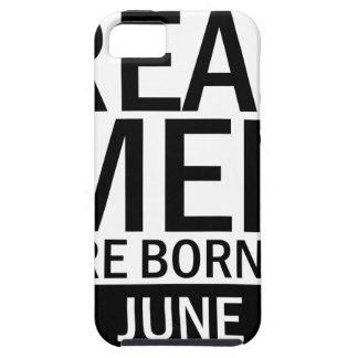 Capa Para iPhone 5 Homens reais junho