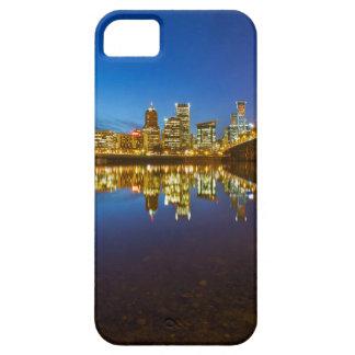 Capa Para iPhone 5 Hora do azul da skyline da cidade de Portland OU