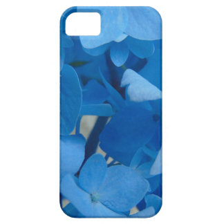 Capa Para iPhone 5 Hydrangeas azuis