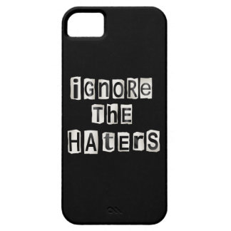 Capa Para iPhone 5 Ignore os haters.