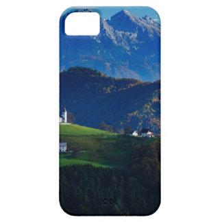 Capa Para iPhone 5 Igreja do santo Thomas nas colinas de Skofja Loka