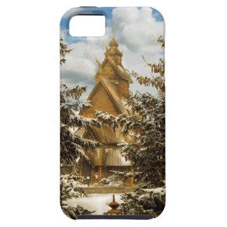 Capa Para iPhone 5 Igreja Minot North Dakota de Gol do inverno