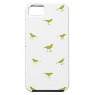 Capa Para iPhone 5 Impressão da silhueta dos pássaros