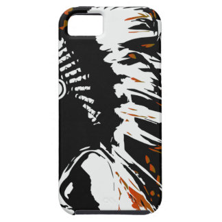 Capa Para iPhone 5 Indiano do nativo americano