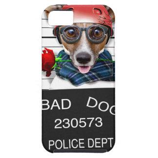 Capa Para iPhone 5 Jaque engraçado russell, cão do Mugshot