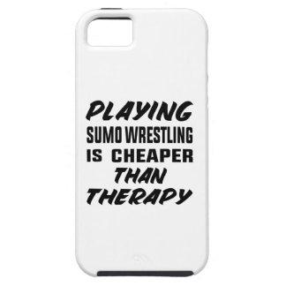 Capa Para iPhone 5 Jogar a luta de Sumo é mais barato do que a
