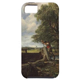 Capa Para iPhone 5 John Constable - o fechamento - paisagem do campo