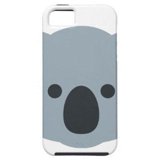 Capa Para iPhone 5 Koala emoji