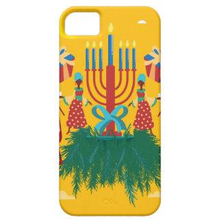 Capa Para iPhone 5 Kwanzaa amarelo