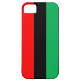 Capa Para iPhone 5 Kwanzaa colore o teste padrão verde preto vermelho