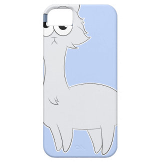 Capa Para iPhone 5 Lama mal-humorado do gato persa