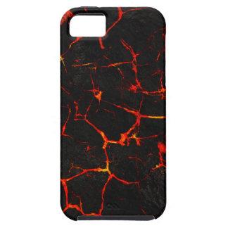 Capa Para iPhone 5 Lava quente de Falln