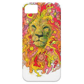 Capa Para iPhone 5 Leão psicadélico