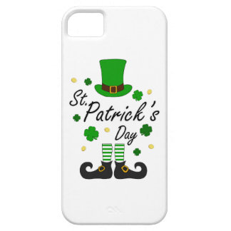 Capa Para iPhone 5 Leprechaun de Patricks da rua