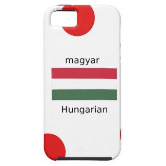 Capa Para iPhone 5 Língua de Hungria e design da bandeira