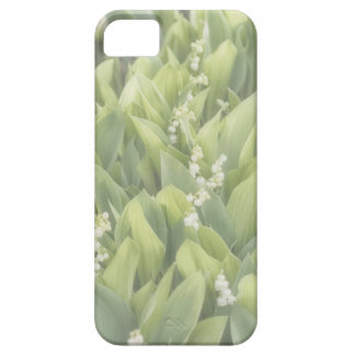 Capa Para iPhone 5 Lírio do remendo da flor do vale na névoa