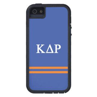 Capa Para iPhone 5 Listra do esporte do ró   do delta do Kappa