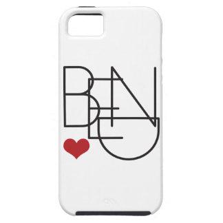 Capa Para iPhone 5 Logotipo do coração da palavra de Oregon da