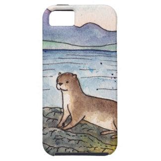 Capa Para iPhone 5 lontra do loch