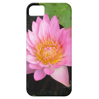 Capa Para iPhone 5 Lotus cor-de-rosa Waterlily