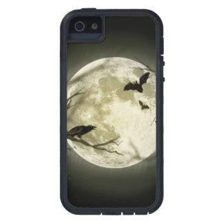Capa Para iPhone 5 Lua do Dia das Bruxas - ilustração da Lua cheia