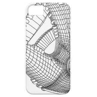 Capa Para iPhone 5 luva de basebol