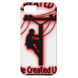 Capa Para iPhone 5 Luz criada deus - bíblia engraçada, design do