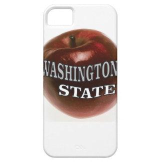Capa Para iPhone 5 Maçã do vermelho do estado de Washington