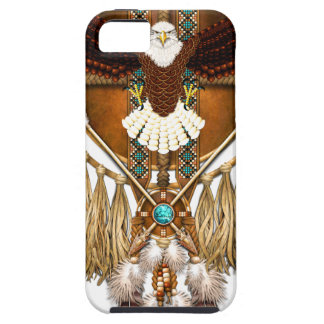 Capa Para iPhone 5 Mandala da águia americana - revisada