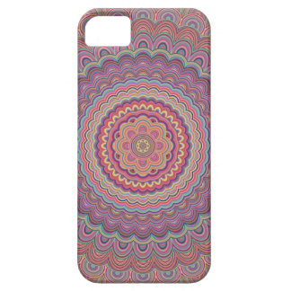 Capa Para iPhone 5 Mandala geométrica do Hippie