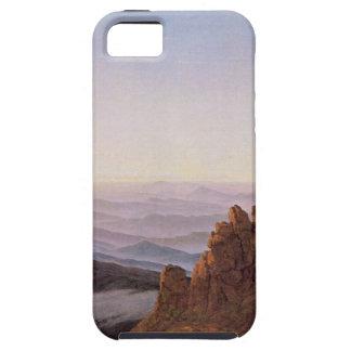 Capa Para iPhone 5 Manhã em Riesengebirge - Caspar David Friedrich