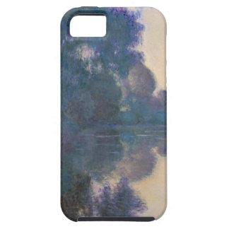 Capa Para iPhone 5 Manhã no Seine perto de Giverny - Claude Monet.j