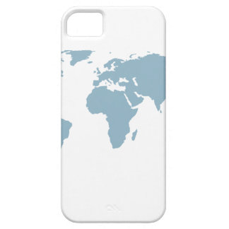 Capa Para iPhone 5 Mapa do mundo