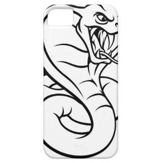 Capa Para iPhone 5 Mascote da víbora do cobra da cobra