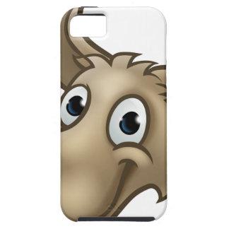 Capa Para iPhone 5 Mascote do caráter do lobo dos desenhos animados
