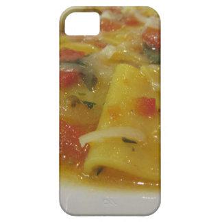 Capa Para iPhone 5 Massa caseiro com molho de tomate, cebola,