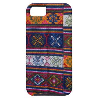 Capa Para iPhone 5 Matéria têxtil butanesa
