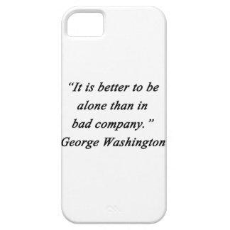 Capa Para iPhone 5 Mau Empresa - George Washington