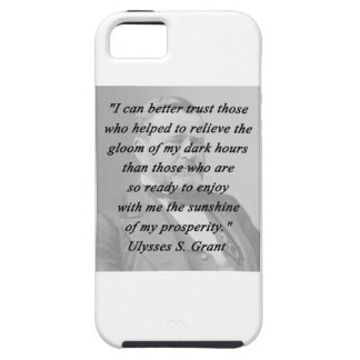 Capa Para iPhone 5 Melhor confiança - Ulysses S Grant