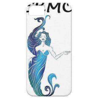 Capa Para iPhone 5 Menina bonito de MERMOM